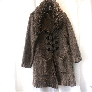 NWOT CARRAIG DONN WOOL BUTTON PEACOAT size MEDIUM